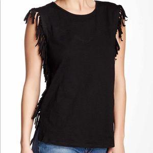 Paper Crane Fringe T-Shirt